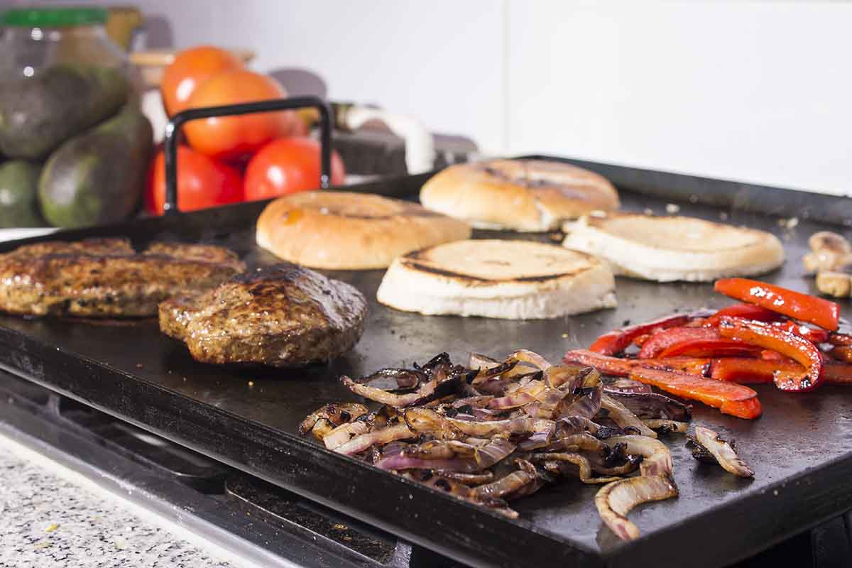 Plancha churrasquera para cocina y asado for Plancha de cocina