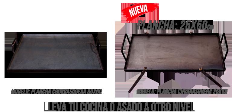 Plancha Churrasquera para Cocina y Asado